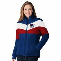New York Giants - NFL Women's Slap Shot Polyester Jacket by G-lll - NEW