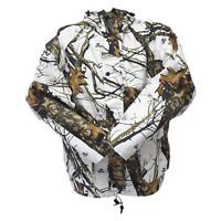 [NEW] Mossy Oak Waterproof Hunting Parka Jacket | Winter Break Up Camouflage