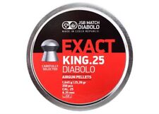 JSB Match Diabolo Exact King .25 Cal 25.39 Grains Domed 350ct 6.35mm