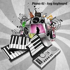 61 Keys Universal Flexible Roll Up Electronic Piano Soft Keyboard Piano F7