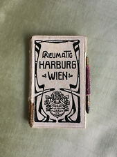 "Henry van de velde ""cuaderno d bal"" - tarjeta de baile-Dance Card para 1910"