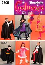 NEW Simplicity Costumes for Kids Sewing Pattern #3595 Size A (3 - 8) - Uncut