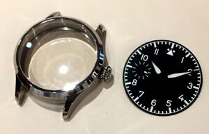 watch kit for Hamilton 917 921 923 - watch case dial hands saphirre crystal