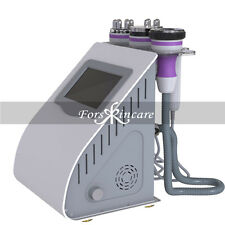 Ultrasonic 5in1 RF Skin Care Cavitation Vacuum Slim Anti Cellulite Machine Spa