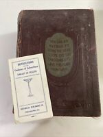Library of Health: Complete Guide to Prevention and Disease 1922 Edition Stanley