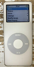 New listing Apple iPod Nano 1st Generation A1137 White 2Gb - Great Condition, Tested, Works