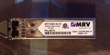 MRV SFP-DGD-SX-R GbE multimode fiber dual LC SFP Gigabit Ethernet