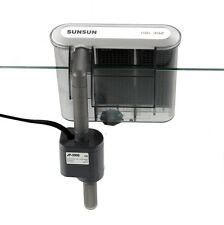 SUNSUN HBL-302 90GPH Hang on Back HOB Power Slim Filter Aquarium Fish Tank