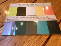 """Crafter's Companion 30 Pc. 6"""" x 3"""" Pearl Cardstock 250gsm / You Choose Color"""