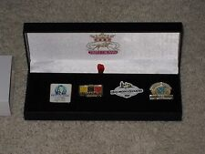 2015 Limited Edition Triple Crown Pin Set (American Pharoah)