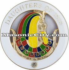 Z-95 Daughters of Isis Auto Emblem Temple Mason Masonic Car