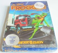 Atari XL: the Official FROGGER-Sierra On-line 1983