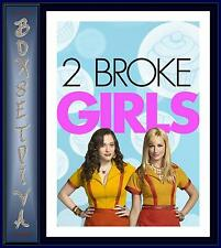 2 BROKE GIRLS - COMPLETE SEASONS 1 & 2    **BRAND NEW DVD BOXSET **