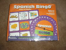 Brand New Learning Resources Spanish Bingo Factory Sealed Ages 4 - 6