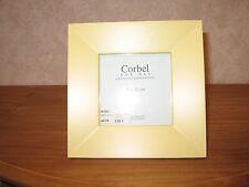 CORBEL *NEW* Cadre porte-photo bois jaune LxH photo=10x10cm