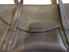 RADLEY Large Brown Leather Vintage Shoulder Grab Bag