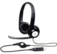 Logitech - H390 USB Headset with Noise-Canceling Microphone W/ Aproca Case