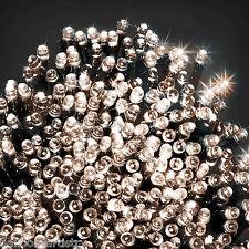 200 Noël lumière blanc chaud Intérieur LED Guirlande Décoration D'arbre