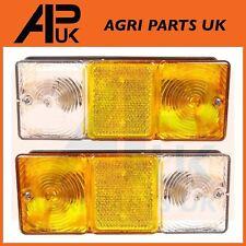 Paire de massey ferguson tracteur front side indicateur clignotant feu de stationnement lampe