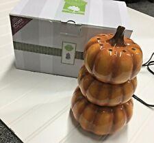 Scentsy Harvest Pumpkins Full Size Wax Warmer 2016 Retired In Original Box