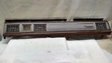 1988-1991 Ford LTD/ Crown Victoria Left and Right 2 woodgrain dash bezel OEM