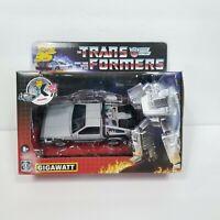 Transformers Back to the Future Exclusive 35th Anniversary GIGAWATT Delorean NEW