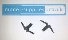 Corgi 107 Pair of Batboat Reproduction Black Plastic Suspensions