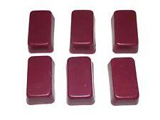 Ski Snowboard wax 6 bars total 1 lb of wax red violet universal ski wax