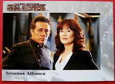 BATTLESTAR GALACTICA - Premiere Edition - Card #66 - Tenuous Alliance