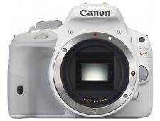 Canon EOS 100D (Kiss x7 Rebel SL1 ) 18.0MP DSLR (Body Only) White