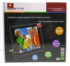PixStar 10.4 Inch Wi-fi Cloud Digital Photo Frame FotoConnect XD Email Web More