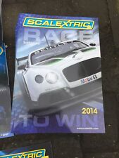 Scalextric carrera para ganar 2014 catálogo/manual edición 55 C8177 Nuevo