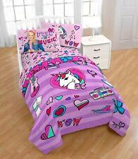 JoJo Siwa Twin & Full Comforter and Sham Set, Kids Bedding, 2 Piece
