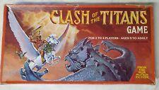 Rare Clash of The Titans Movie Tie-In Vintage Board Game 1981 Good Condition