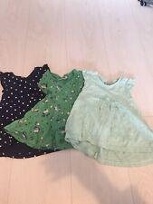 3 x Girls Next Dresses Age 3-6 Months