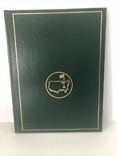 Masters Augusta National Golf Club Annual 1991 Yearbook