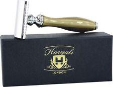 DE safety/double edge Shaving razor With Buffalo Horn Handle Best Christmas Gift