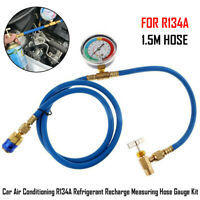 Car A//C R410A Refrigerant Refill Coolant Recharge Hose Charging Freon Tube