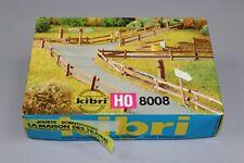Z266 KIBRI HO Maquette train B-8008 Barriere Montagne bois Piquet Diorama 8008