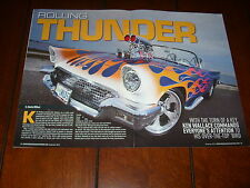 1957 FORD THUNDERBIRD 427 SOHC SUPERCHARGED HOT ROD  ***ORIGINAL 2012 ARTICLE