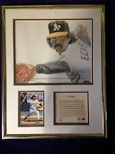 1993 Dennis Eckersley The Stopper Lithographic Print & Card Framed Kelly Russell