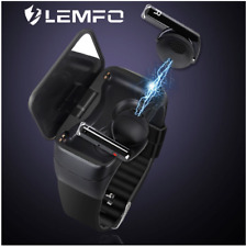 LEMFO Smart Watch Bluetooth BT5.0 Heart Rate Monitor Blood Pressure