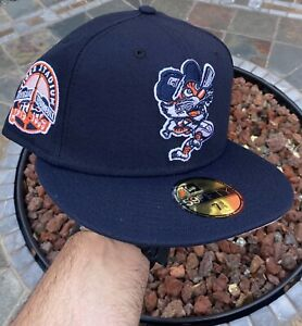 New Era Detroit Tigers Navy 7 5/8 Coked Out LSD  Not Hat Club Pink UV