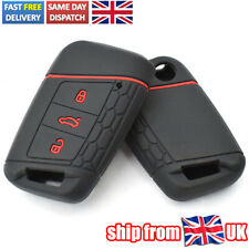 Silicone Remote Key Case Fob Cover For VW PASSAT B8 For Skoda Kodiaq Superb A7