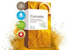 Curcuma 60 Kapseln hochdosiert hoher Piperin Anteil