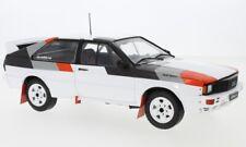 Audi quattro , weiss/Dekor, 1:18, IXO