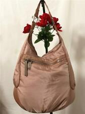 $350 Stella McCartney x LeSportSac Ex-Large Nylon Travel Shoulder Hobo Bag Beige