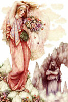Persephone - Chart Counted Cross Stitch Pattern Needlework Xstitch craft DIY
