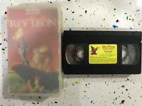 EL REY LEON VHS CINTA TAPE 2 OSCARS THE LION KING WALT DISNEY