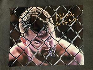 ANDREI ARLOVSKI Autographed UFC GLOSSY 8x10 PHOTO ~KHABIB~